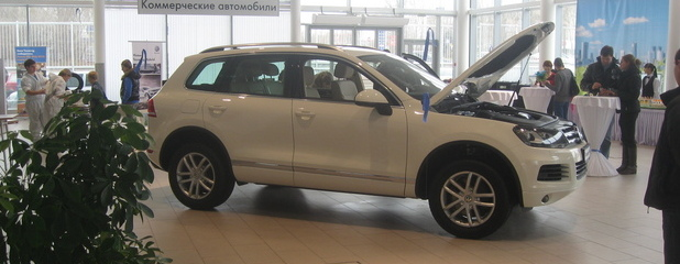 VW Touareg Hybrid вышел на Российский рынок